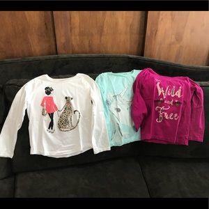 Girls Gymboree shirt set